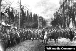 Вступление Красной армии в Тбилиси 25 февраля 1921 года