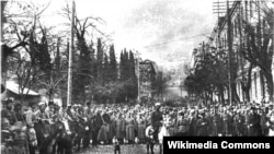 Qızıl Ordu Tbilisini tutur, 1921-ci il