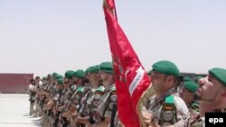 سربازان اسپانیایی بخشی از نیروهای ائتلاف مستقر در افغانستان به شمار می روند.