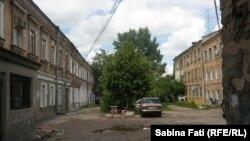 Odesa 2016: curte interioară din Moldovanka