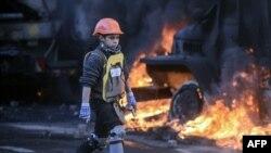 Столкновения демонстрантов с милицией (Киев, 18 февраля 2014 года)