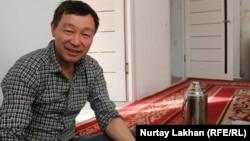 Этнический казах из Китая Жакып Кадырбек, подавший документы на получение казахстанского гражданства. Алматинская область, 13 ноября 2019 года.