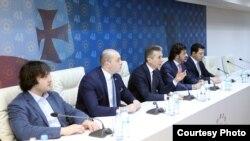 """Заседание правящей партии """"Грузинская мечта"""""""