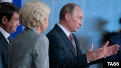 Путин расхваливает перспективы Крыма в Ялте