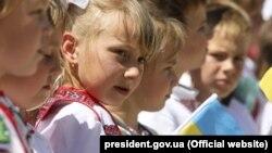 Учні однієї зі шкіл на Дніпропетровщині, 17 травня 2018 року