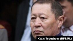 ҰҚК-нің бұрынғы төрағасы Нартай Дүтбаев. Алматы, 5 сәуір 2012 жыл.