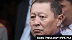 ҰҚК бұрынғы төрағасы Нартай Дүтбаев. Алматы, 5 сәуір 2012 жыл.