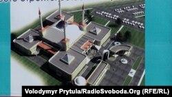 Проект Соборної мечеті в Сімферополі