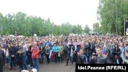Антикоррупционный митинг в Уфе. 12.06.2017
