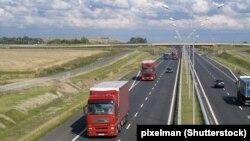 Autocesta, arhivska fotografija