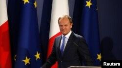 """Tusk rekao da će svim stranama """"biti potrebna čvrtsa garancija za sve građane i njihove porodice koji će biti pogođeni Bregzitom"""""""
