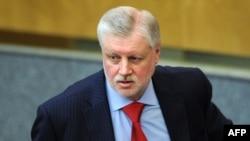 Сергей Миронов в Госдуме 11 апреля