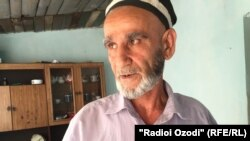Sherkhon Madkholov, the father of Nazirbek and Murdobek, who went to the Middle East to join the Islamic State group.