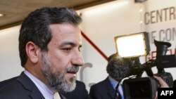 Замглавы МИД Ирана Аббас Арагчи в Женеве.