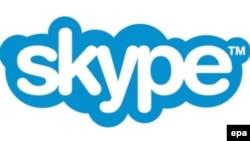 Логотип программного обеспечения Skype.