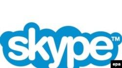 Логотип коммуникационной системы Skype
