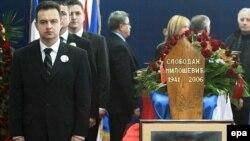 Ivica Dačić na dan sahrane Slobodana Miloševića u Beogradu 16. marta 2006.