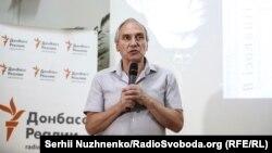 Ігор Козловський на презентації книжки Асєєва «В ізоляції»