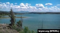 Симферопольское водохранилище, май 2019 год