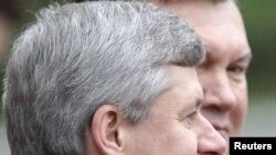 Віктор Янукович та Стівен Гарпер