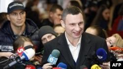 Киев мэрі Виталий Кличко. Киев, 15 қараша 2015 жыл.