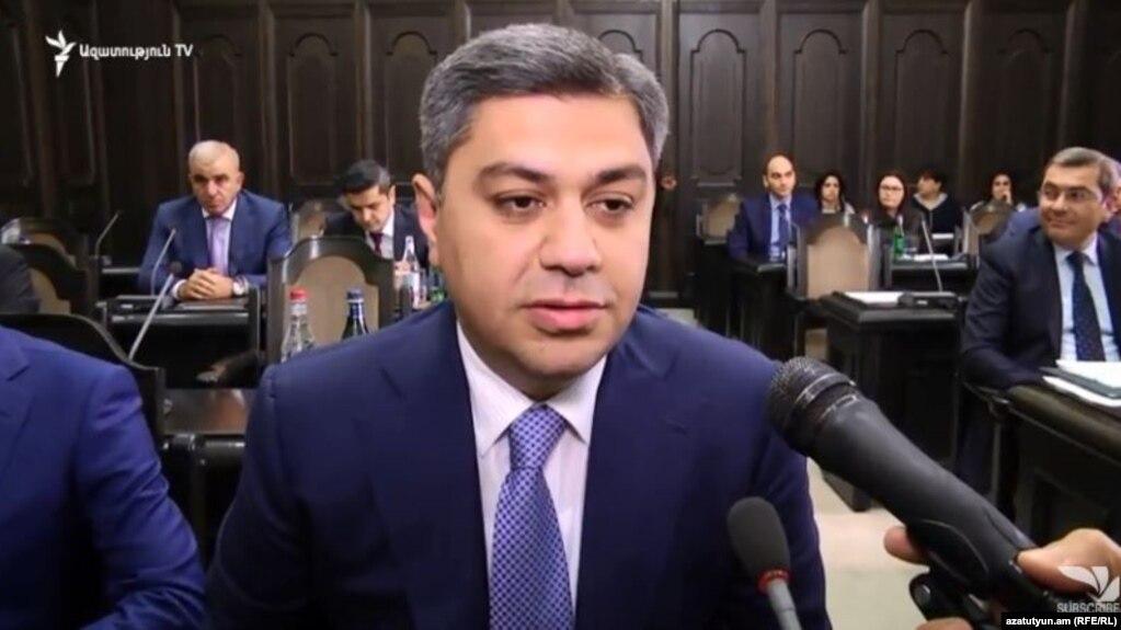 Глава СНБ Армении: По делу о незаконно обогатившихся лицах есть задержанные