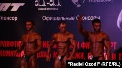 Соревнования по бодибилдингу состоялись в Душанбе