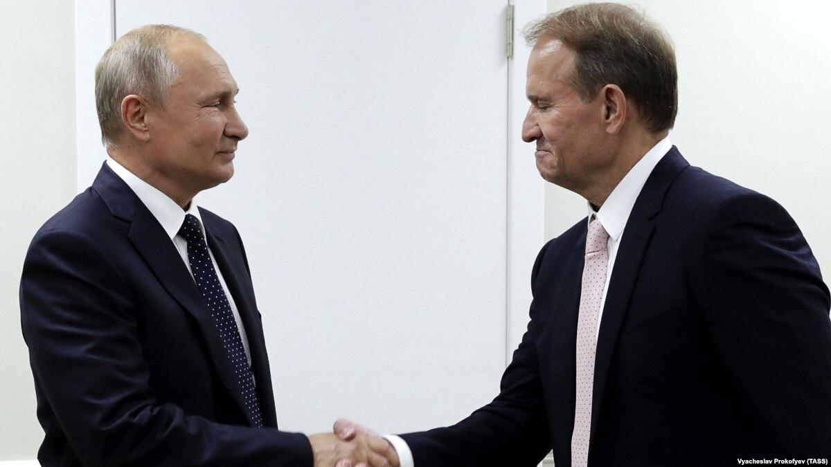 Баканов: все поездки Медведчука к России – его личная пиар-инициатива