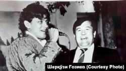 Uzbekistan - uzbek actor, film director Sherqozi Goziev