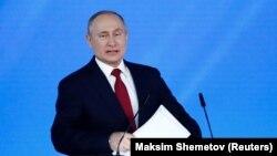 Владимир Путин, 15 января 2020 г.