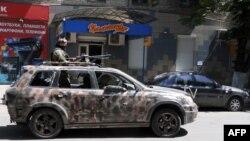 Ситуация в Славянске, 21 мая 2014