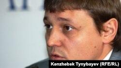"""Игорь Винявский, главный редактор оппозиционной газеты """"Взгляд""""."""