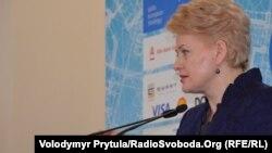 Даля Ґрібаускайте, президент Литви