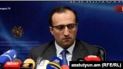 Министр здравоохранения Арсен Торосян, Ереван, 23 января 2019 г.