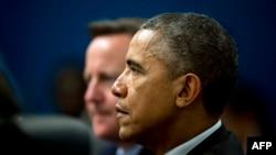 Obama dhe Cameron - foto arkivi