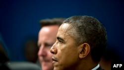 Обама ва Кэмерон.