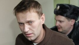Aleksei Navalny was jailed for his part in earlier antigovernment protests.