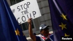 Antivladini protesti održani su u subotu širom Velike Britanije