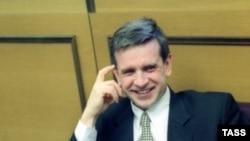 Михаил Зурабов говорил депутатам об успехах, достигнутых в ходе реализации национального проекта