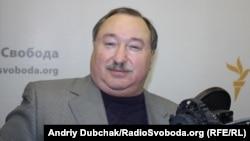 Віктор Швець у студії Радіо Свобода
