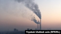Kyrgyzstan's capital, Bishkek, was recently adjudged to have the second dirtiest air in the world, behind New Delhi. (file photo)