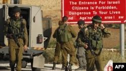Pamje e ushtraëve izraelitë gjatë një aksioni të mëparshëm
