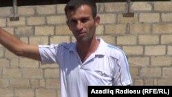Kənd sakini Ziyad Kazımov