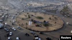 Pamje nga sheshi Tahrir në Kajro të Egjiptit