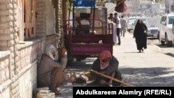 متسولون في شوارع البصرة
