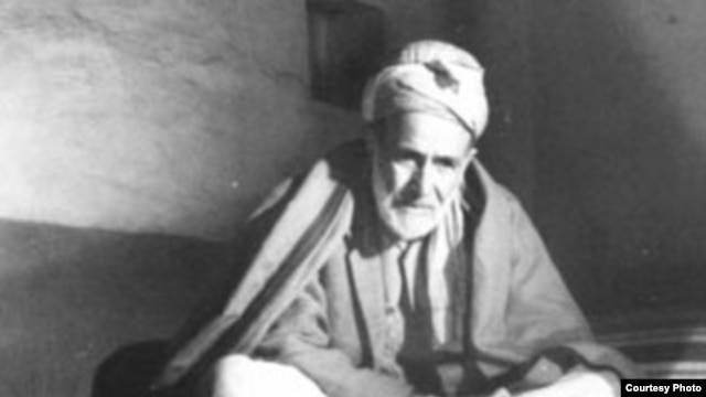 Renowned Pashto poet Hamza Khan Shinwari, whose shrine was attacked