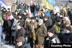 Учасники акції (фото Миколи Колесника)