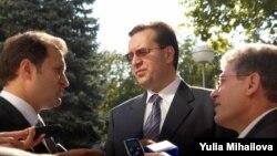 Vlad Filat, Marian Lupu, Mihai Ghimpu