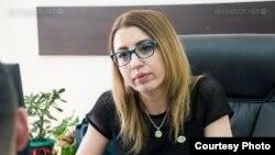 Замминистра юстиции Кристине Григорян