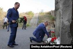 Дмитрий Медведев и Владимир Путин в Севастополе